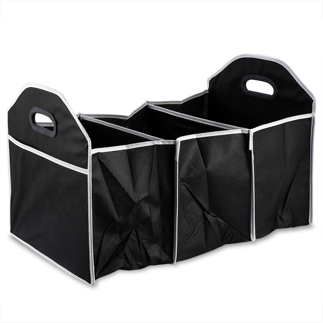 Car Truck Folding Storage Box Sorting Bag Road Trips Tool Storage Basket Organizer Clutter Food Automobile  sc 1 st  AliExpress.com & Car Truck Folding Storage Box Sorting Bag Road Trips Tool Storage ...