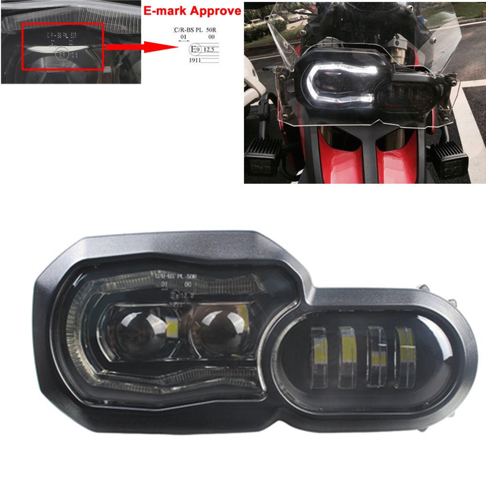 Pour BMW F800GS F800 F800R F800 ADV F700GS F650GS LED Phare Projecteur replacment projecteur avec 7 jours