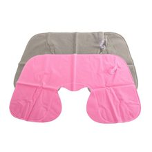 1 pc Inflatable Pillow Air Cushion Neck Rest U-Shaped Compact Plane Flight Travel Pillows Home Textile Drop Shipping(China)