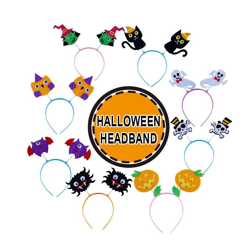 Kindergarten Lots Arts Crafts Diy Toys Halloween Costume Headband Crafts Kids Educational For Children's Toys Girl/boy Gift