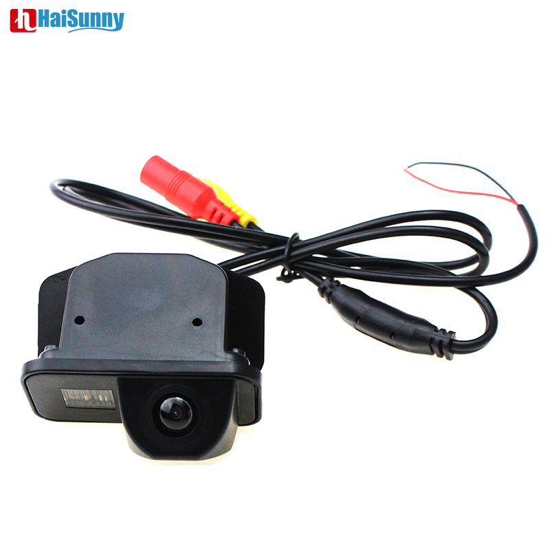 HD Car Vehicle Reverse Back up Rear View Parking Camera Waterproof Night Vision CCD For Toyota Corolla Auris Avensis T25 T27 image