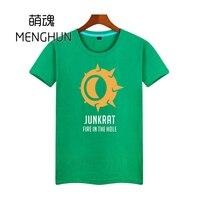 Camiseta de juego de watchman, camiseta de JUNKRAT fire in the hole para hombres, Camiseta de Juego de algodón de varios colores, camiseta ac119