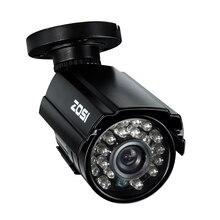 ZOSI HD CMOS 800TVL CCTV Camera IR LED Waterproof Outdoor/Indoor Night Vision 65ft Security Bullet Camera with bracket
