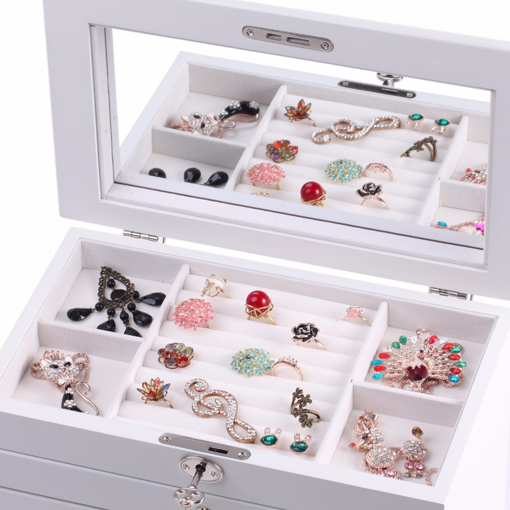 Luxury Large Wooden Jewellery Boxes