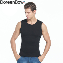 DoreenBow Summer Cotton Slim Men Tank Tops Clothing Bodybuilding Sleeveless Undershirt Fitness Tights High Flexibility, 1 PC