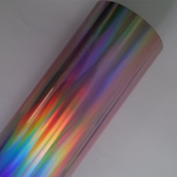Hot Stamping Foil Holographic Foil X05 For Paper Or Plastic 64cm X120m
