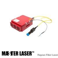 Скидка Raycus 20 Вт 30 Вт 50 Вт волокно лазерный источник