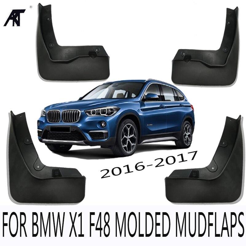 Garde-boue moulé pour BMW X1 F48 2016 2017 garde-boue garde-boue garde-boue garde-boue garde-boue KIT accessoires