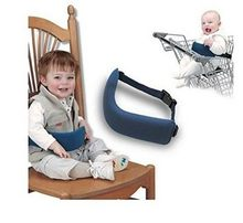 gray black and blue color baby shopping cart harness Safety Car Seat Sleep Nap Aid Baby Kids Head Support Holder Adjustable Belt(China)