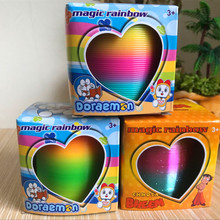 Hot selling toys in the rainbow circle 6.5*6.5 cm rainbow circle children play m