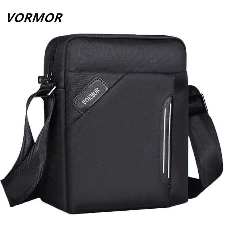 d2cc4ebaf680 VORMOR Waterproof Brand Men Messenger Bags