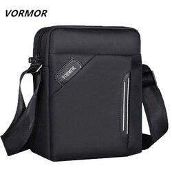 VORMOR impermeable de los hombres de la marca de mensajero bolsas de los hombres de la nueva moda bolsa de diseñador de bolsos de mano de alta calidad los hombres casuales bolsa