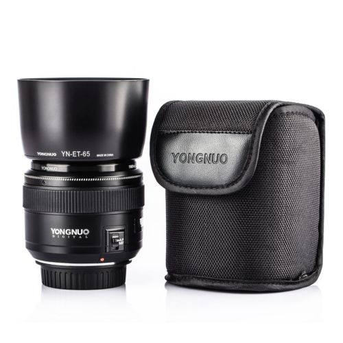 New YONGNUO YN85mm f1.8 AF/MF Standard Medium Telephoto Prime Lens Fixed Focal Camera Lens for Canon EF Mount EOS Cameras