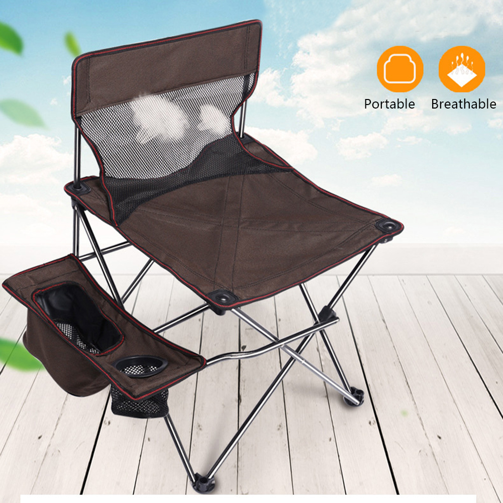 Portable Multi-function Portable Folding Fishing Chair Stool Aluminum Alloy Outdoor Hiking Camping Small Fishing Chair