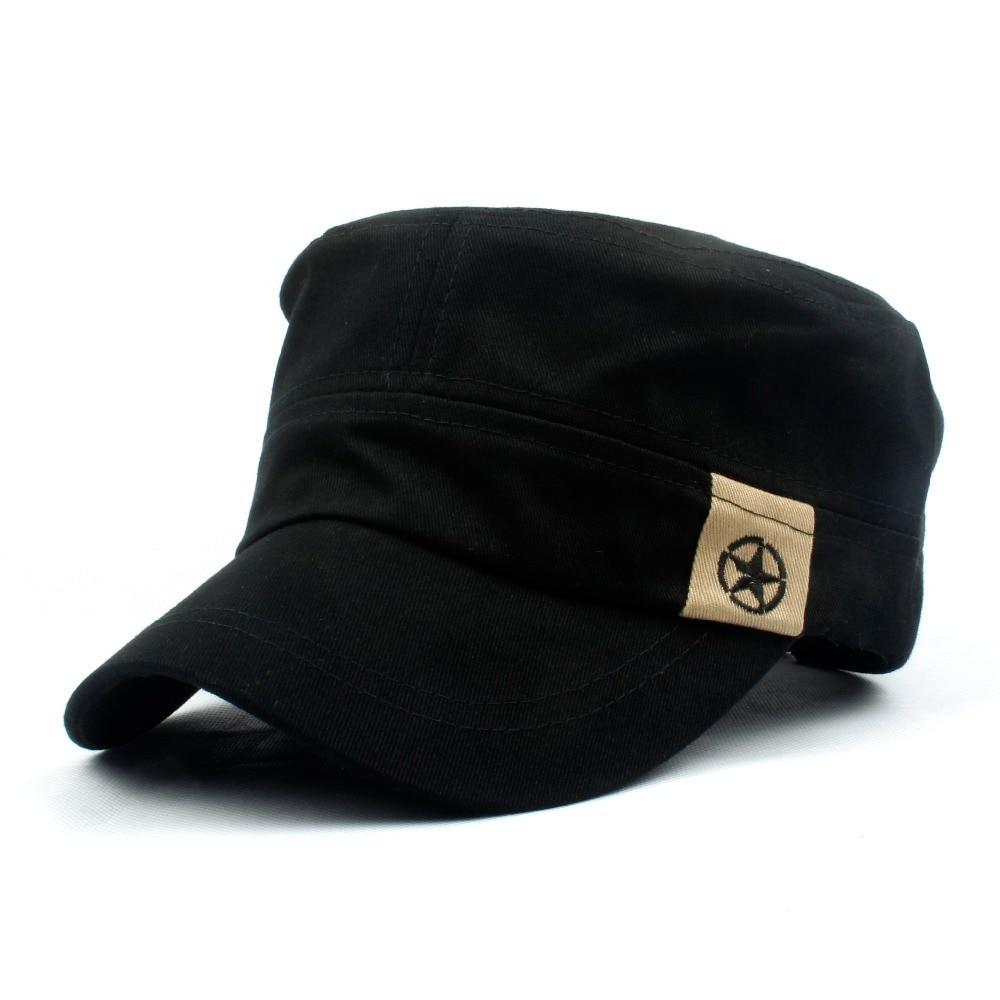 Classic Men Women Baseball Caps Casquette Gorra Cotton Vintage Army Peaked Hat Cadet  Adjustable Outdoors Hats pioneer ddj wego4 w