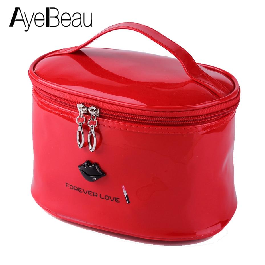 Necessaire Beauty Vanity Toiletry Kit Travel Cosmetic Makeup Make Up Bag Pencil Pen Case For Brush Handbag Organizer Women Pouch