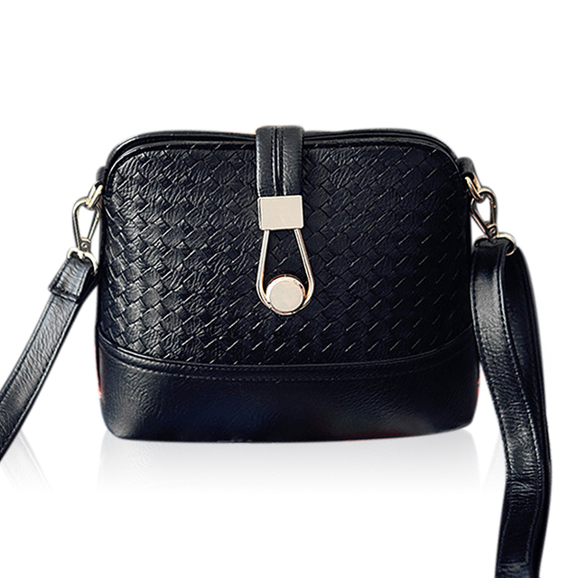 VEEVAN 2015 bolsos carteras mujer marca Women Shanel Bags Weave shell Women Shoulder Bags Fashion Leather Sling Crossbady Bag