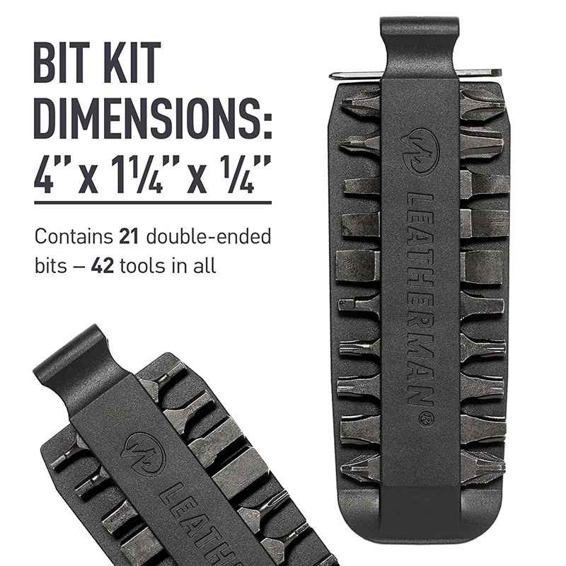 Image 4 - LEATHERMAN   One Set Bit Kit, 21 Double Ended Screwdriver Bits for Multitools-in Screwdriver from Tools