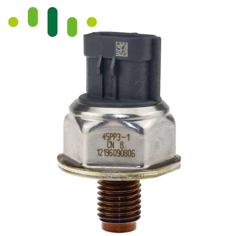 Sensor de presión de combustible de carril común Original 45PP3-1 1465A034A para Nissan Navara D40 Pathfinder 2,5 diésel