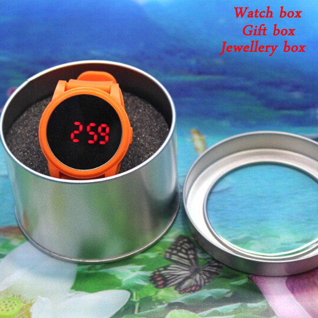 Watch Box Gift Box Bracelet Bangle Jewellery Box 90x60MM boite montre organizer caja reloj holder Display Organizer Cases