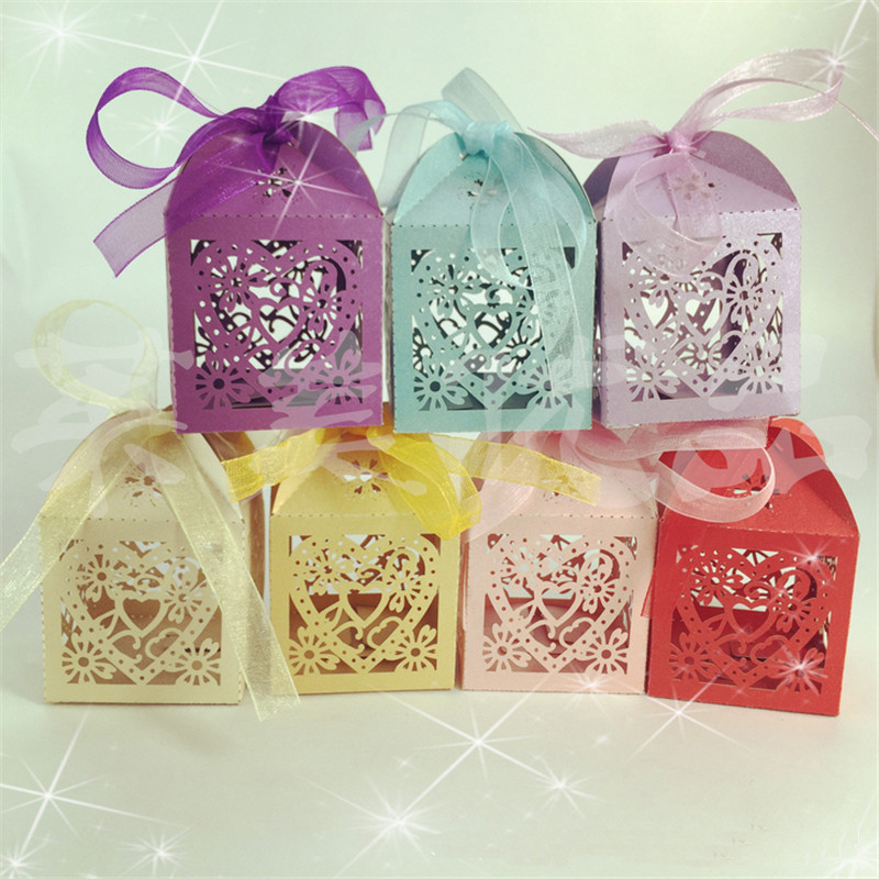 10Pcs/set Wedding Favors And Gifts For Guests Love Heart