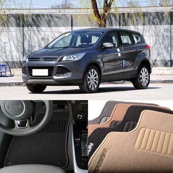 5pcs Premium Auto Fabric Nylon Anti-slip Floor Mats Carpet For Ford Kuga 2012-2020