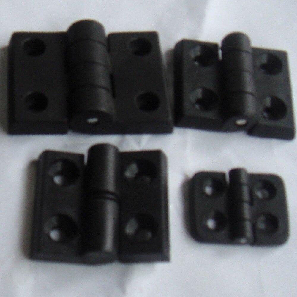 Levou perfil de alumínio Extrusão de dobradiça de metal Quadro Para CNC