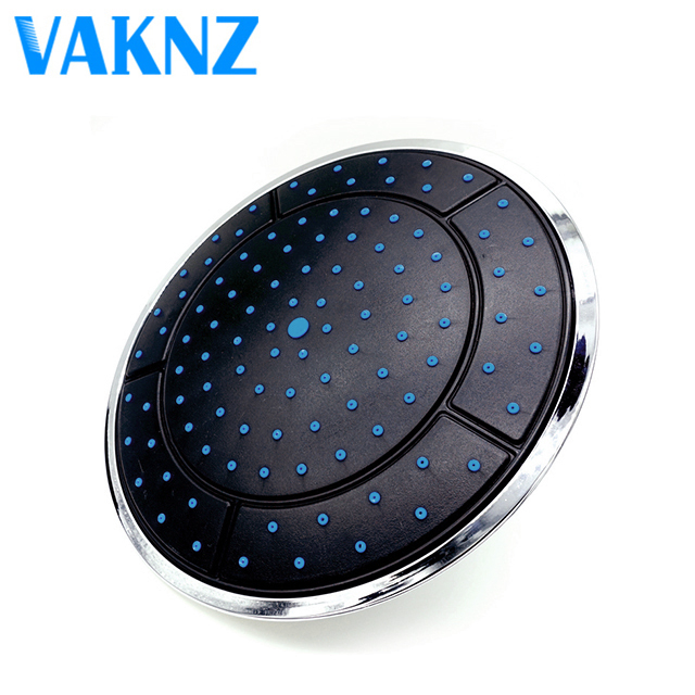 Genuine Vaknz ABS Rainfall Top Water Saving Shower Head Sprayers Powered Rain Shower Cabin Room Bathroom