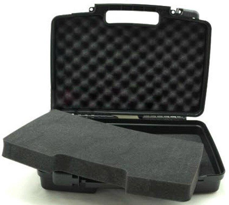 Пластиковый корпус инструмента чемодан Toolbox ударопрочный водонепроницаемый футляр безопасности оборудование корпус камеры с нарезанные п...