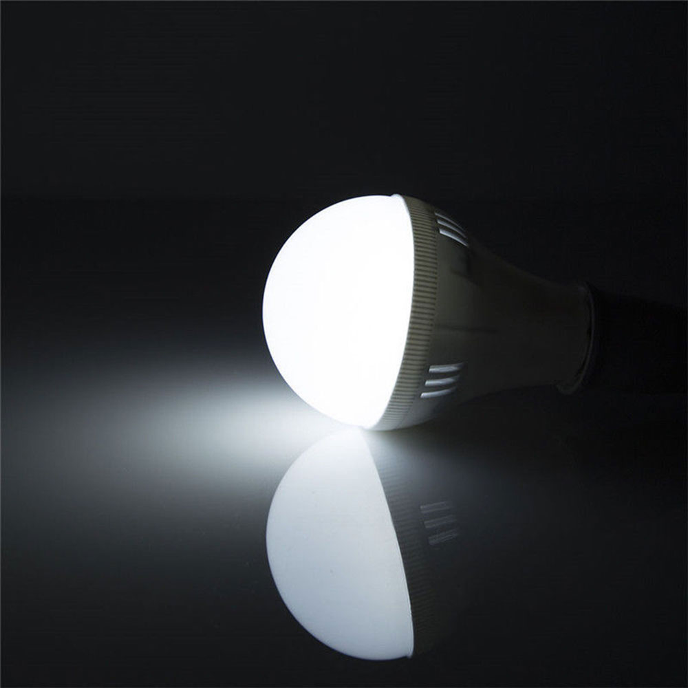 Luminous Smart Light Bulb LED Bulb 800lm White/Warm White E27 Emergency Lamp Indoor Outdoor Lighting Fixture Home Room Durable