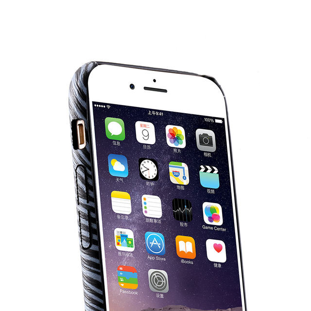 Case iPhone zwierzęcy print różne kolory 6/6S 6/6S plus