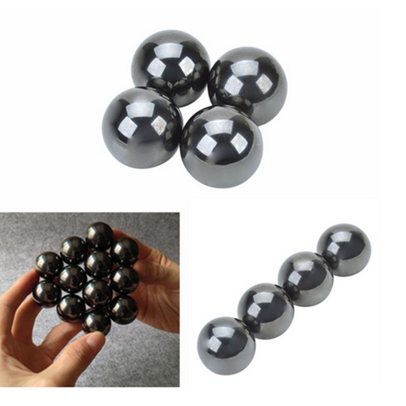 Knowledgeable Tool 4pcs Magnetic Balls Fidget Cube Spinner Hand Big Beads Skam Polymorph