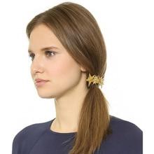 E-покрытие металлического сплава аксессуары для волос с 5 пентаграммы заколки конский хвост волос украшения/украшения.