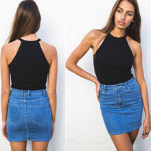 Sexy Fashion Women Summer Vest Top Sleeveless Blouse Casual Tank