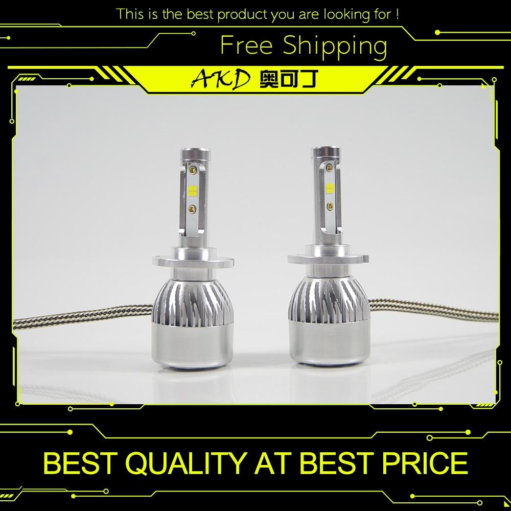 AKD Car Headlight H15 H7 H4 LED H8 H11 HB3 9005 HB4 9006 H1 H3 9012