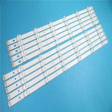 """12 Lamps LED Backlight Strip For LG 55LA616V 55LA6200 55LA6205 55LA6208 55LA620S  ZA UA Bar Kit Television LED Band Pola 2.0 55"""""""