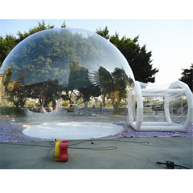 3m Height Inflatable bubble camping tent inflatable outdoor tent bubble tree tent event for outdoor camping equipment outdoor double layer 10 14 persons camping holiday arbor tent sun canopy canopy tent