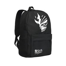 Japan Anime Bleach Backpack for Teenagers Men Backpacks for Teenage Boys School Bag Hik ing Daypack