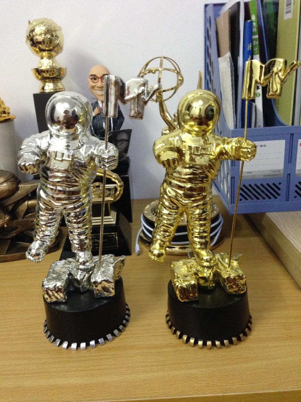 Gold MTV Awards, American MTV Awards, Moonman Trophy Awards, Gold MTV - Home Decor - Photo 4