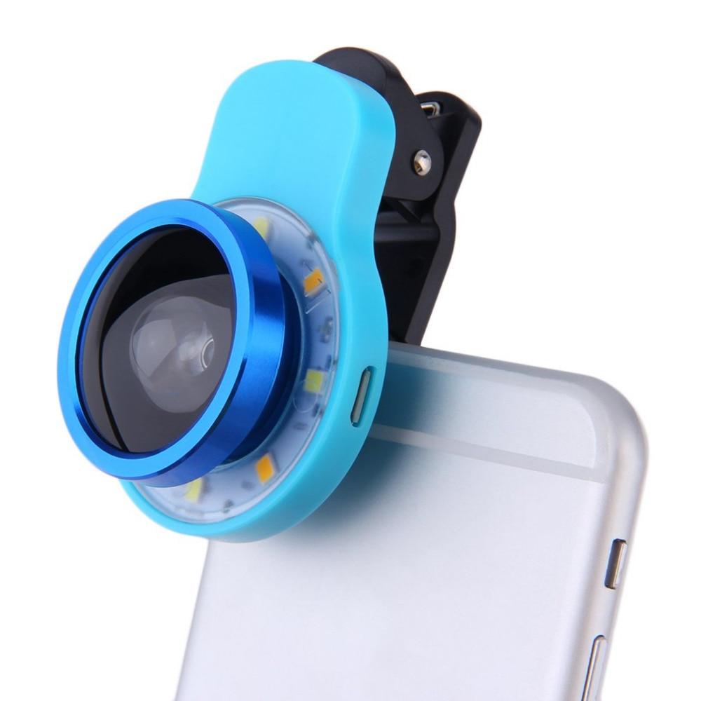8 светодиодный 3.5 мм Jack умный телефон селфи светодиодный Камера вспышкой для Android
