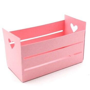KSCRAFT לב תיבת מתכת חיתוך מת שבלונות עבור DIY רעיונות/אלבום תמונות דקורטיבי הבלטות DIY נייר כרטיסים