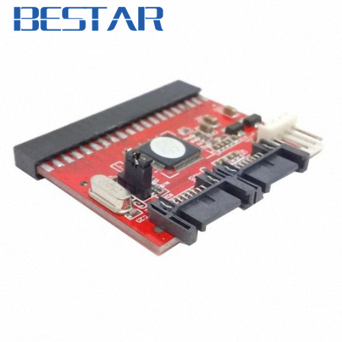 IDE 100 133 DVD CD to two Serial SATA 7PIN Adapter Converter for Hard disk Drive sata IDE to sata adapter connector