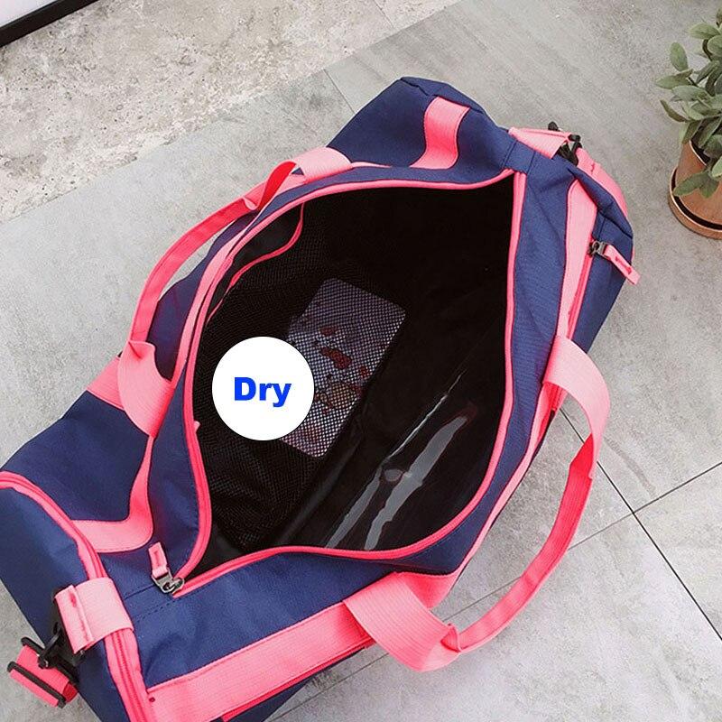 f09b6c72f732 Outdoor Sports Gym Bags Swimming Bag Wet Dry Handbags Waterproof Travel  Handbag Yoga Shoulder Sac De ...