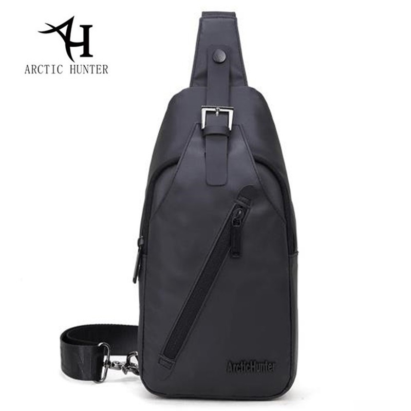 Waterproof Backpack Crossbody Bags For Men Messenger Chest Bag Pack Casual Single One Shoulder Sling Bagpack Zipper Bolsas