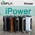 100% Оригинал Eleaf iPower Батареи 5000 мАч Мод Коробка 80 Вт Новая Прошивка С Режим Smart Электронных Сигарет Модов Тела