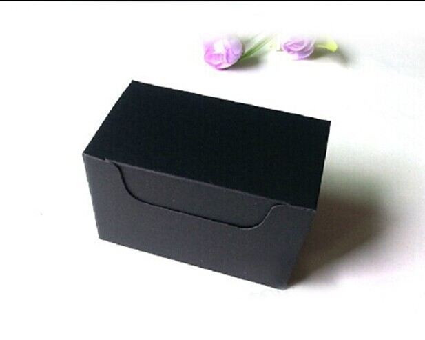 9.3*5.7*4cm black Craft Business Card Packaging Box ,gift