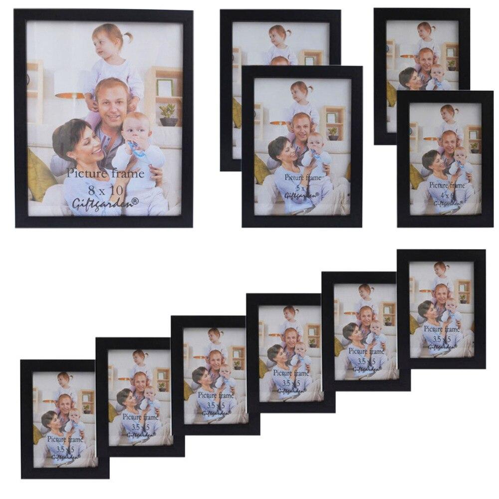 Giftgarden marco marcos negro para sala para la imagen y carteles ...