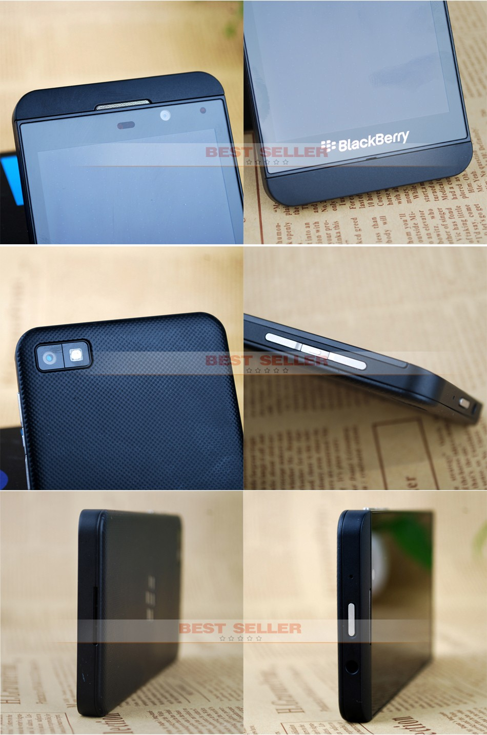 Unlocked Original Blackberry Z10 3G 4G Smartphones NFC GPS WIFI 4.2 inch Touch Mobile Phones 2+16GB white 4