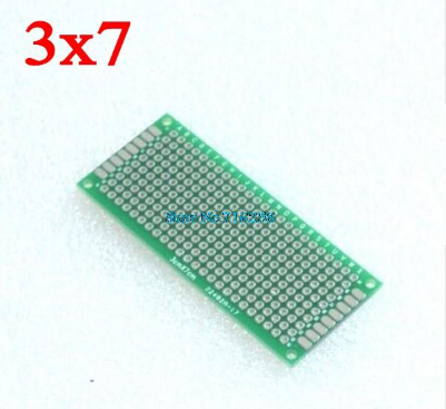 2X8 3X7 4X6 5X7 6X8 7X9Cm Đôi bên Nguyên Mẫu Tự Làm Đa Năng Mạch In PCB Board Protoboard Cho Arduino