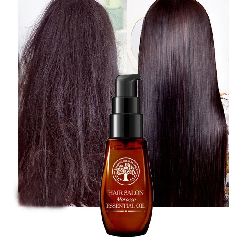 Vitamins Hair Oil Serum Argan Treatment Keratin Care Hairs Straightening Natural Repair Dry Curly Nursing Growth Prevent Loss LQ